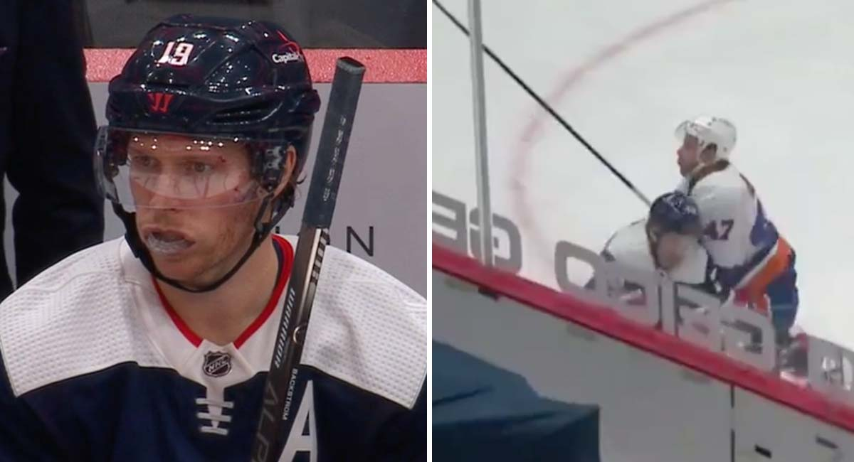 Capitals lose Nicklas Backstrom and Lars Eller to injury in third period