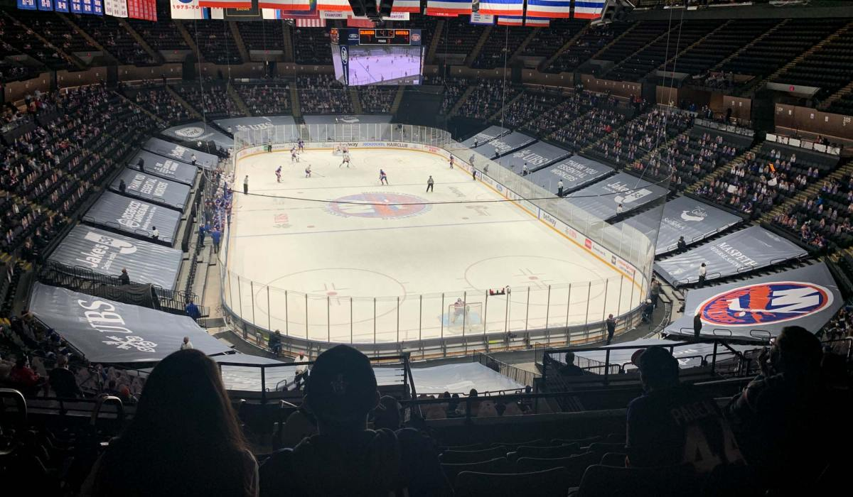 What it's like attending an NHL hockey game during the pandemic