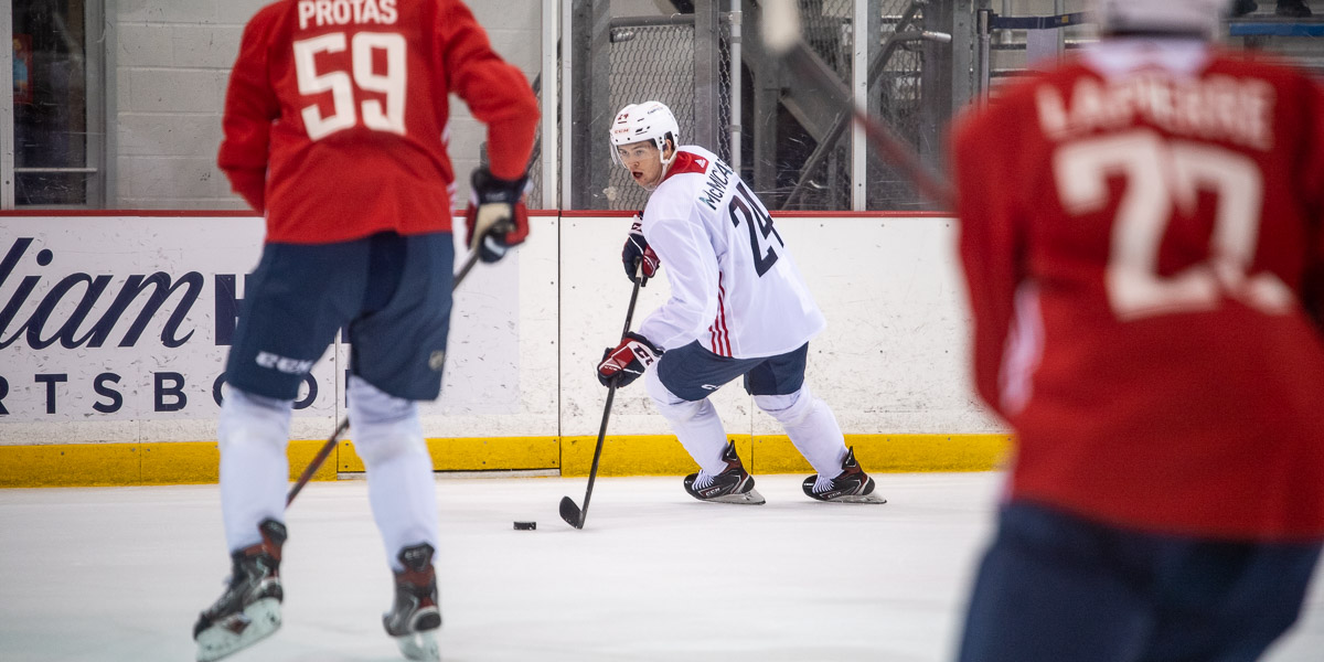 Day 1 of Capitals Rookie Camp (Photos)