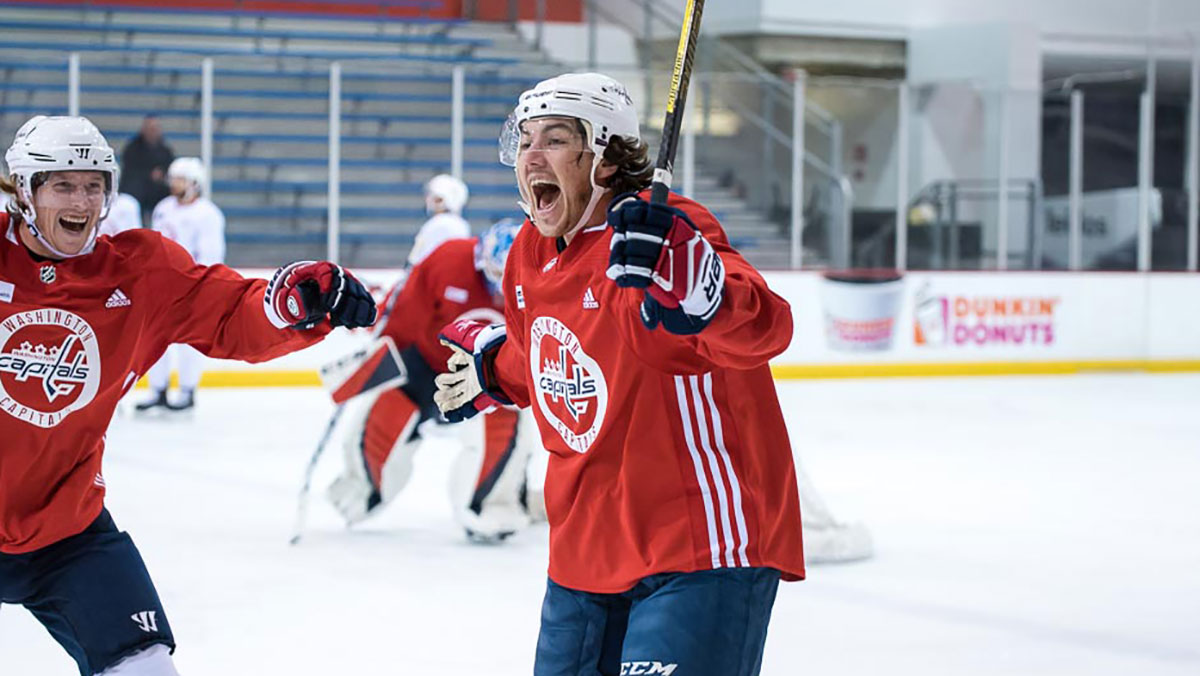 TJ Oshie was 2-percent worried he might be left unprotected in the Expansion Draft. Now? 'I'm so happy to be here. This is my home.'