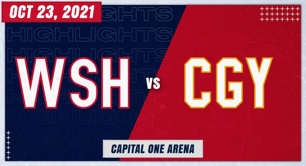 Highlights from the Capitals-Flames game (live thread)