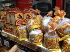 Kulichi Easter cakes Russia