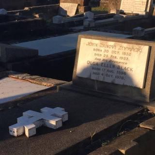 Русские в Австралии John Zanovi Ziymack burial - www.russiansinaustralia.info