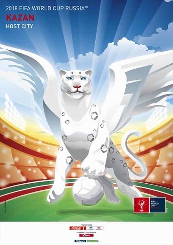 FIFA World Cup 2018 Russia - Kazan poster