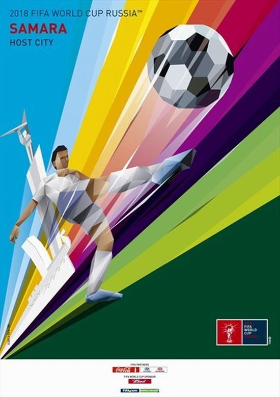 FIFA World Cup 2018 Russia - Samara poster