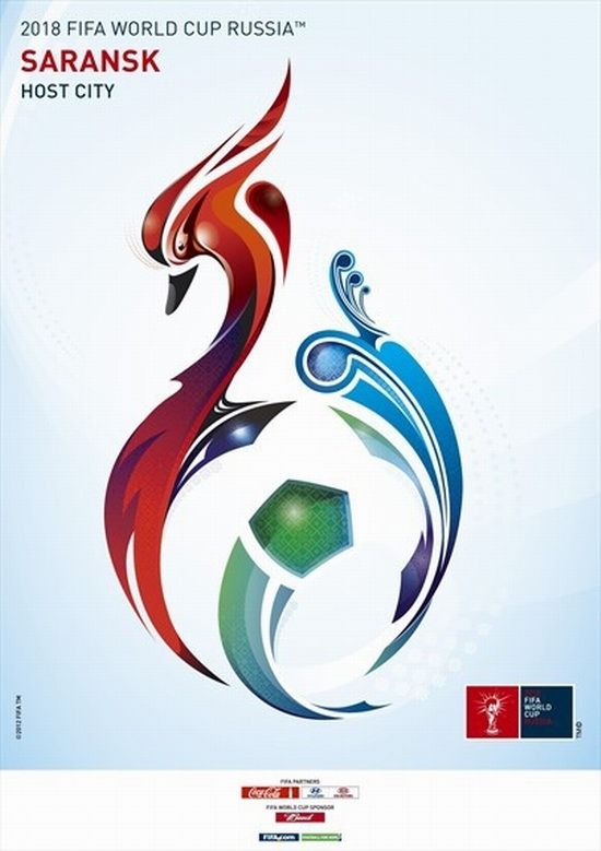 FIFA World Cup 2018 Russia - Saransk poster