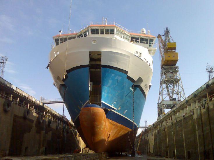 Hrossey Drydock 2007