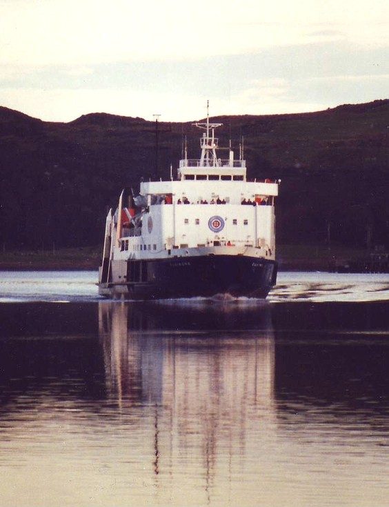 MV Lochmor - Photo Copyright Russ McLean MAIN
