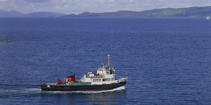Russ McLean MV Lochmor