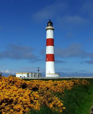 Tarbat Ness Lighthouse Buildings - Kirsty Jarman