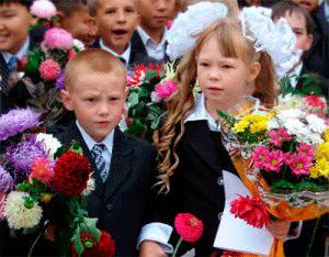 inizio dell'anno scolastico in russia ucraina bielorussia