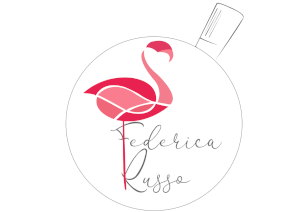 Logo Federica Russo fenicottero flammy pasticcera donna pink pastry