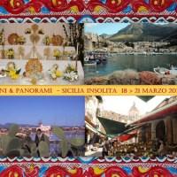 PANI E PANORAMI - SICILIA INSOLITA (18 > 21 marzo 2017) VIAGGI FOTOGRAFICI