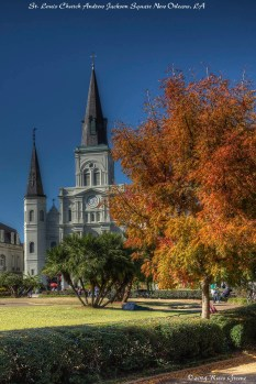 St Loius Church at Andrew Jackson Square, New Orleans, LA
