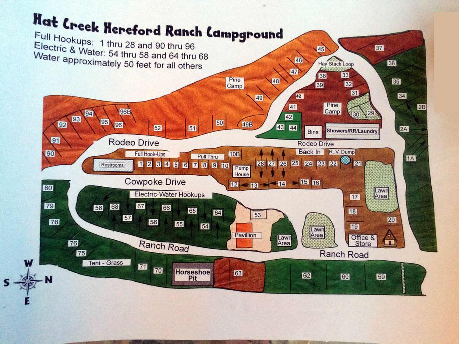 Hat Creek Hereford Ranch Rv Park Campground Russ On The Road