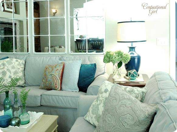 Inspiring Living Room Ideas Rustic Crafts Chic Decor. Living Room  Innovative White And Aqua For Part 65