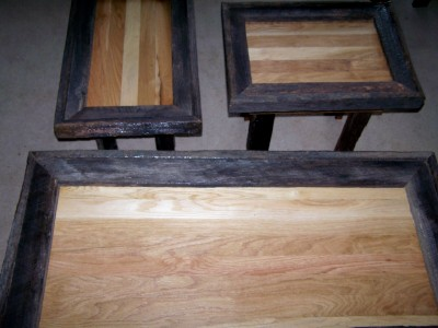 Barn Wood Rustic Tables