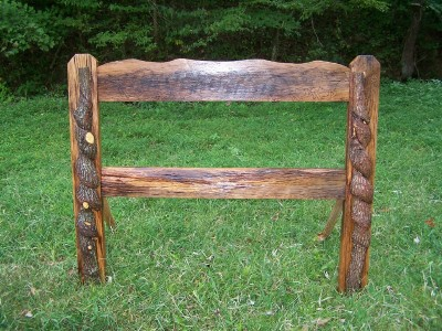 simply rustic headboard