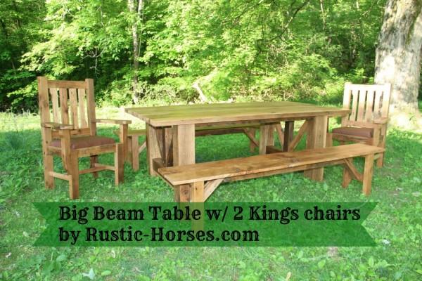 Stones Big Beam Table