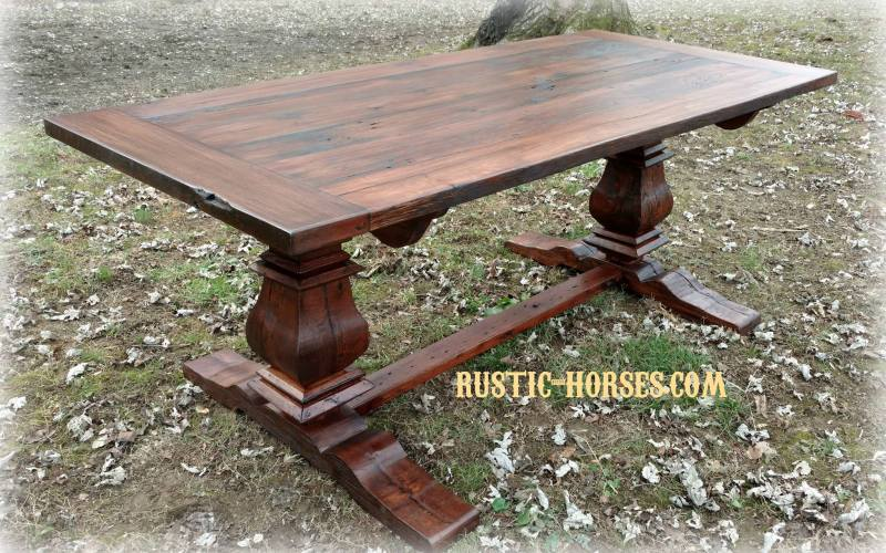 Queens table in red mahogany headed to Cornersville TN