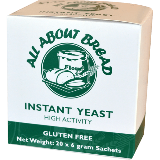 All About Bread Instant Yeast 20 x 6g sachets