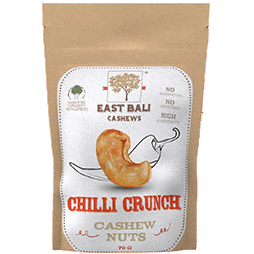 East Bali Cashew Nuts Chilli Crunch 75g