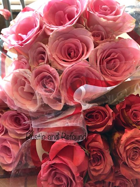 Roses in sink 5-9-19