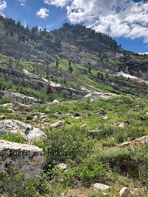 Mountain @Angel Lake