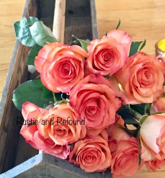 p roses in tool box