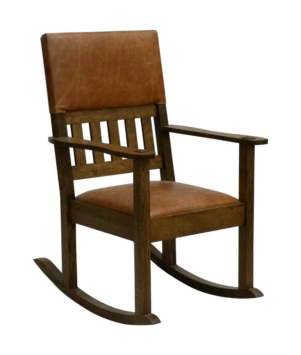 Stickley Mission Craftsman Style Rocking Chair