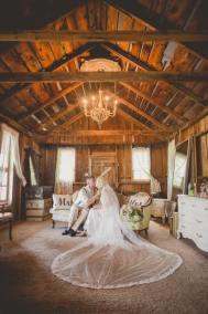 Inside the bridal suite
