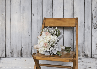 Flowers on Chair, Milestone Barn