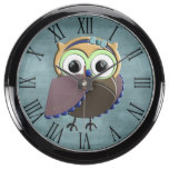 Custom Rustic Owl Birthday Party Aquavista Clock