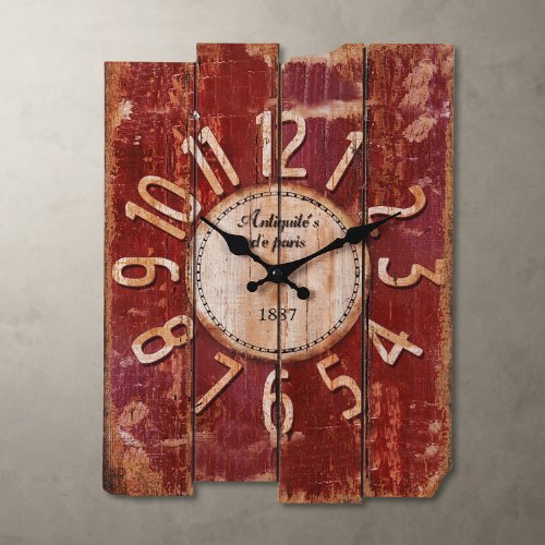 Porch-O 15″ Country Style Vintage Wall Clock