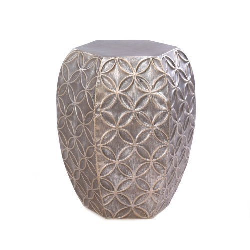 Home Locomotion Silver Symmetry Stool