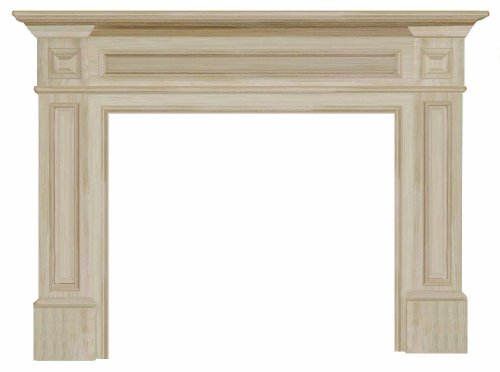 The Classique 50″ Fireplace Mantel Unfinished