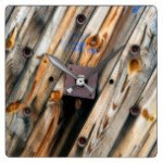 Wildlife Wire Wall Decoractive Clock 11 The Rustic Clock