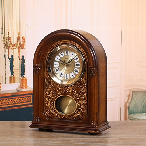 European clocks/Clock/Living room bedroom Mesa creative clocks and ornaments/ fashion clock/Hour chiming clock-A