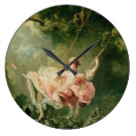 Jean-Honoré Fragonard – The Swing Large Clock