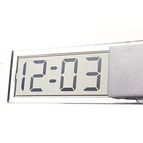 Liquid Crystal Time Lcd Digital Clock Other Tools – Suction Cup Car Dashboard Windscreedn Digital Lcd Display Clock – 1PCs