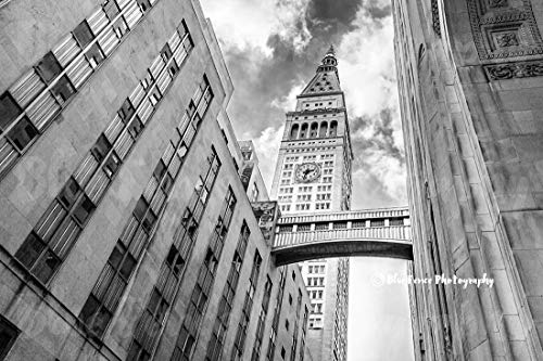 Art Deco Photography, Clock Tower, Gotham Print, Old New York, Architectural Print, New York City, Home Wall Art, Landscape, Horizontal, Sizes Available from 5×7 to 20×30.