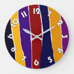 Model clock large, Sound off Colors Rustic