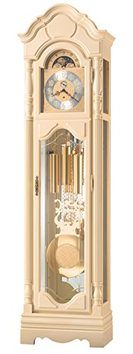 Ridgeway 2572 Floor Clock Bisque Finish