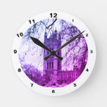 London – Westminster, Parliament in Winter England Round Clock