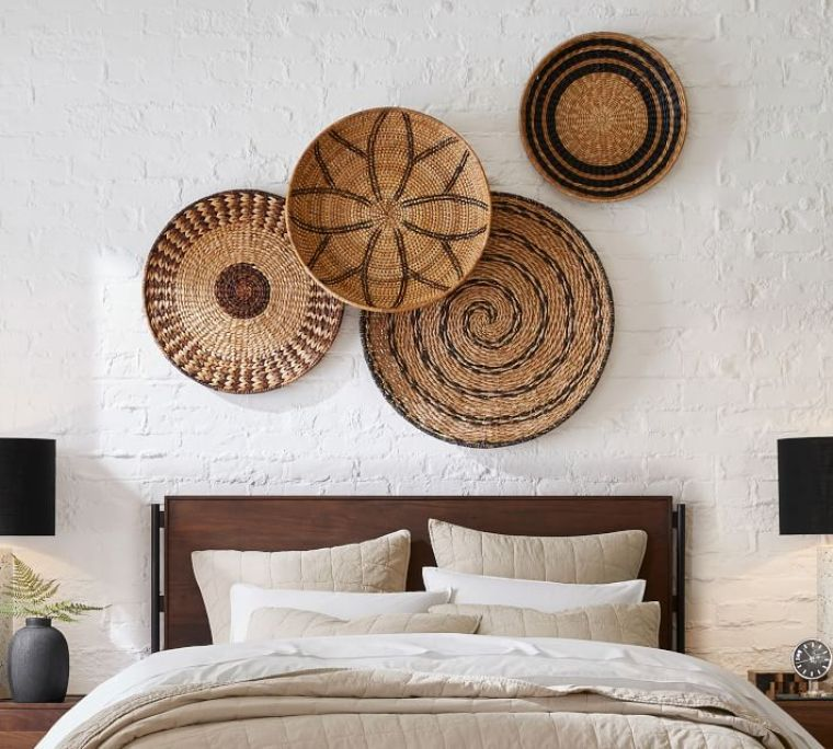 Basket wall art Pottery Barn