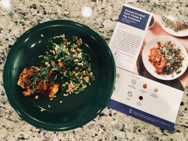 Fennel-Crusted Pork Chops & Fig Compote