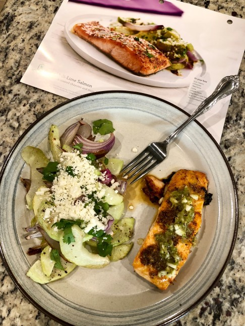 Home Chef: Chili-Lime Salmon