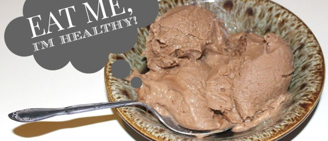 Guilt-Free Peanut Butter & Chocolate Ice Cream