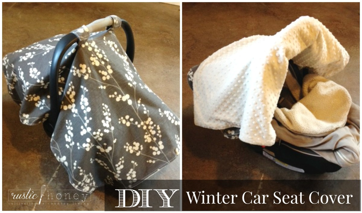 Mama Monday: DIY Winter Car Seat Cover