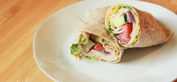 Spicy Turkey Avocado Wrap: Wrap-It-Up-Wednesday